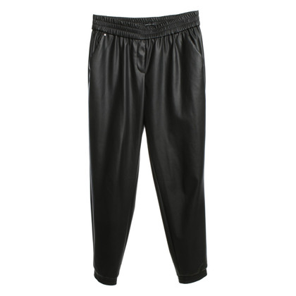 Altre marche Kenneth Cole - pantaloni di pelle artificiale