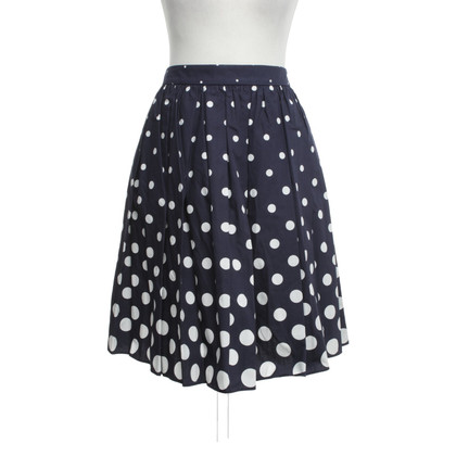 Miu Miu skirt with dot pattern