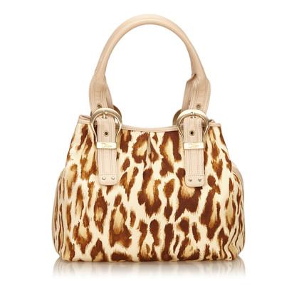 Christian Dior Animal Print Shoulder tas