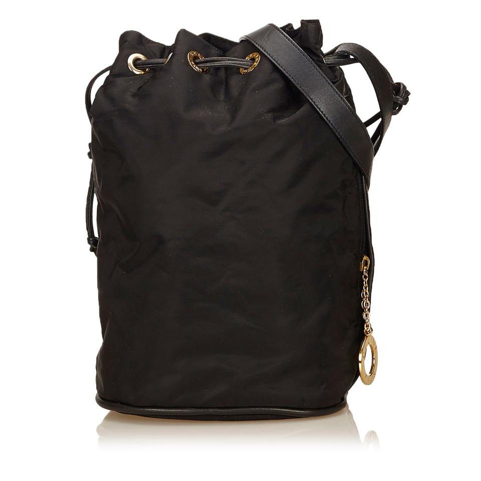 Céline Nylon Shoulder Bag