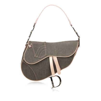 Christian Dior Denim Saddle