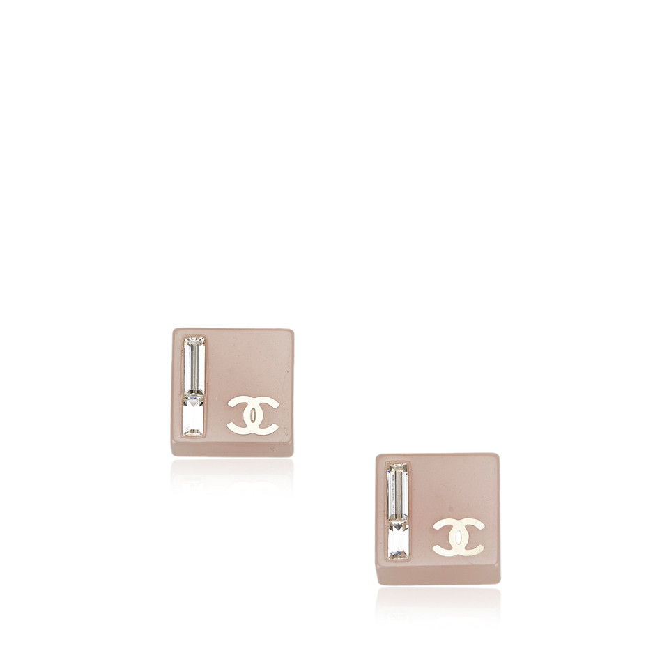 Chanel Enamel CC Earrings