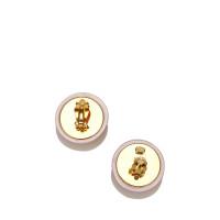 Chanel CC Clip-On Earrings