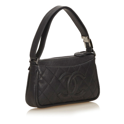 Chanel Cuoio del punto selvaggio Shoulder bag