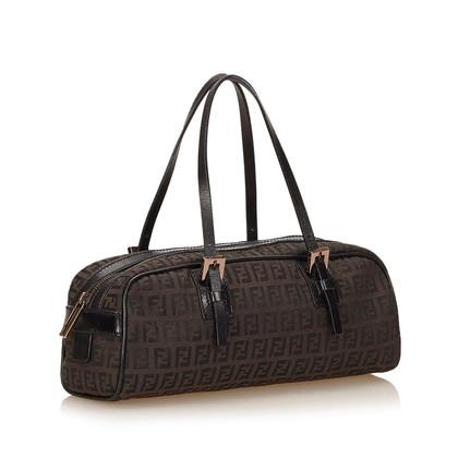 Fendi Jacquard Zucchino Handbag