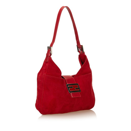 Fendi Suede Shoulder tas
