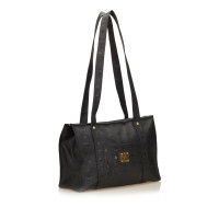 MCM Leather Shoulder Bag