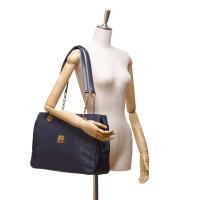 MCM Nylon Chain Shoulder Bag