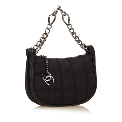 Chanel Borsa in sacchetto di nylon di Choco