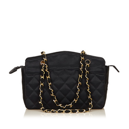 Chanel Satin Handtasche