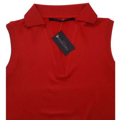 Valentino Poloshirt in rood