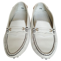 Tod's White slippers