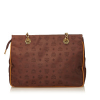 MCM Nylon Chain Shoulder Bag