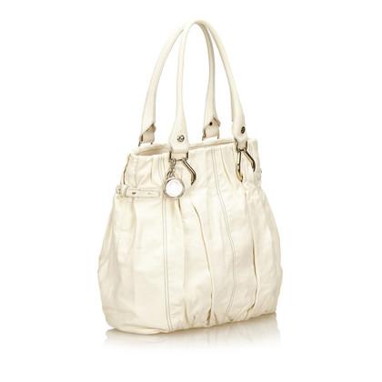 Céline Leder Tote Bag