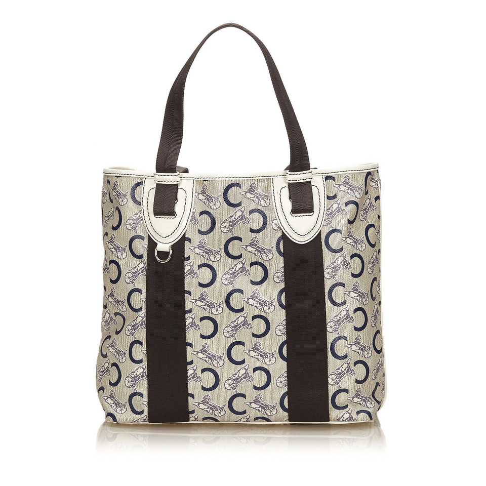 Céline Canvas Tote Bag