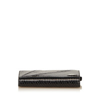Céline Embossed Leather Long Wallet
