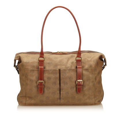 Mulberry Canvas Schouder tas