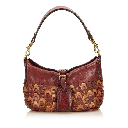 Mulberry Gemusterte Lederhandtasche