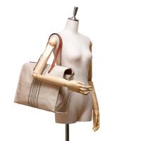 Hermès Canvas Cabas