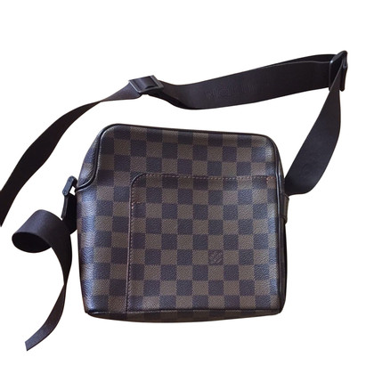 Louis Vuitton Schoudertas Damier Ebene Canvas
