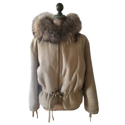 Christian Dior Bont capuchon jas