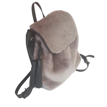 Kate Spade Handbag with fur trim