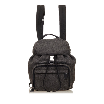 Prada Wool Backpack