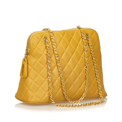 Chanel Quilted Caviar Leather Shoulder Bag