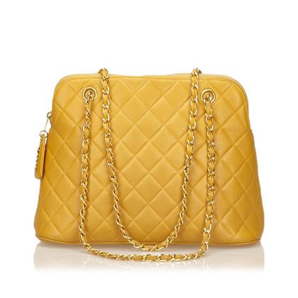 Chanel Quilted Caviar Leren Schouder tas