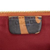Christian Dior Printed Leather Mini Saddle