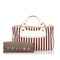 Céline Striped Canvas Boogie