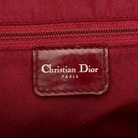 Christian Dior Printed Leather Saddle Dome