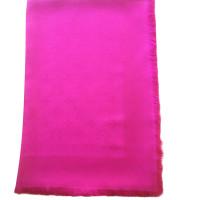 Louis Vuitton Monogram cloth in fuchsia