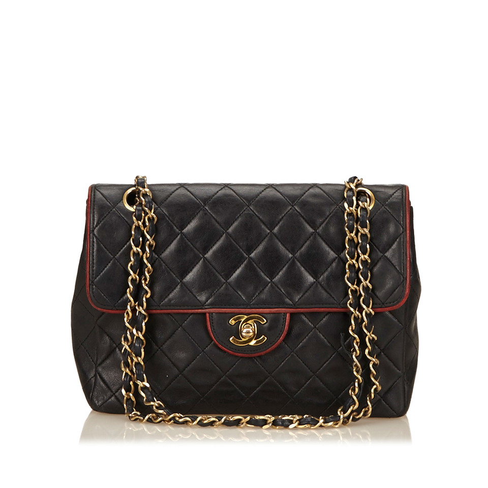 Chanel Quilted Lambskin Chain Flap