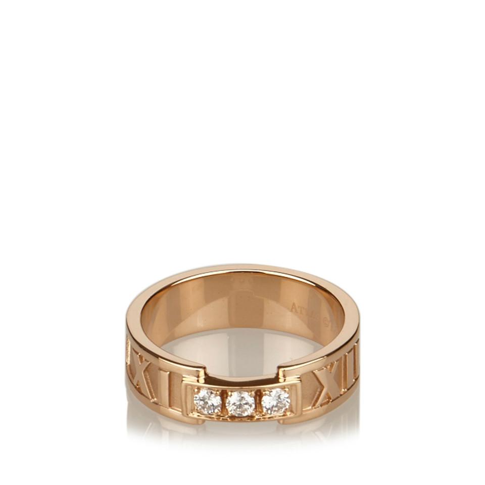 Tiffany & Co. 18K Diamond Atlas Band