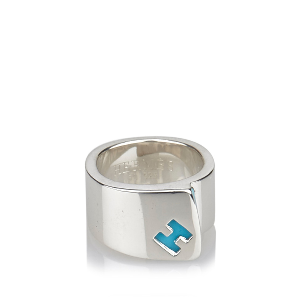 Hermès Sterling Silver Ring