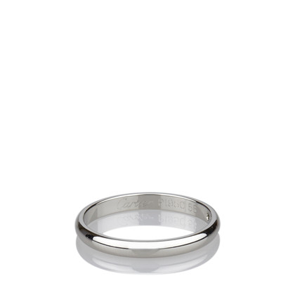 Cartier Diamond Platinum Band Ring