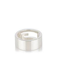Gucci Sterling Silver Cutout Ring