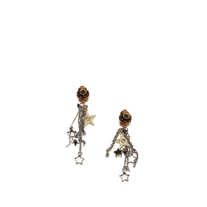 Dolce & Gabbana Drop Chains Clip-On Ohrringe