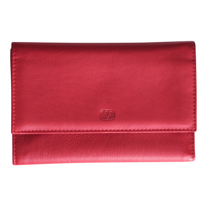 Valentino Leather wallet in red