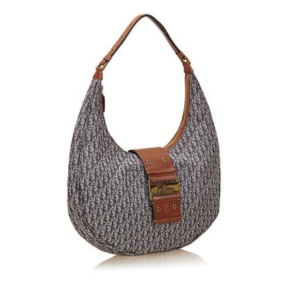 Christian Dior Jacquard Shoulder Bag