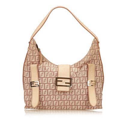 Fendi Jacquard Zucchino Shoulder Bag