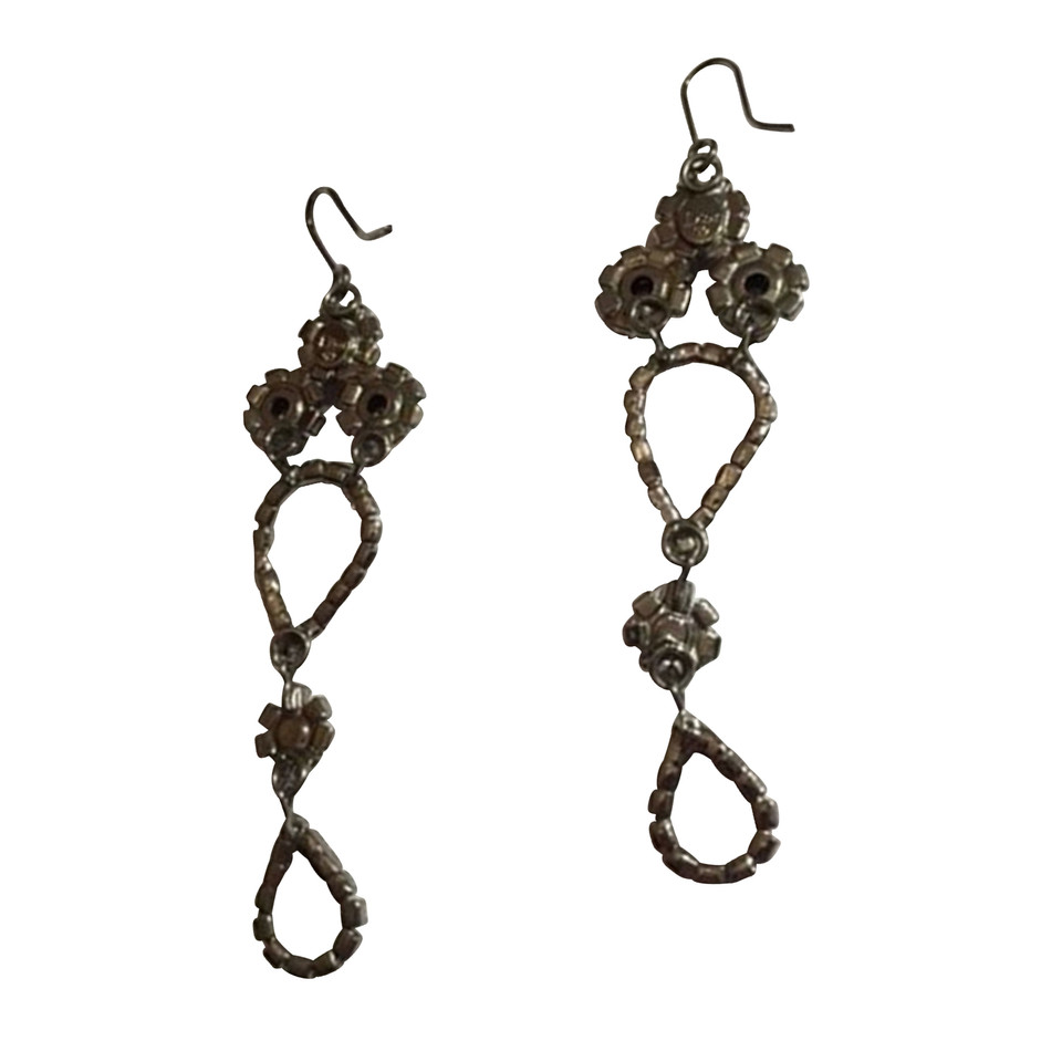 Christian Dior Earrings with gemstones