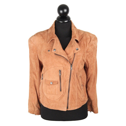 Ralph Lauren giacca di pelle scamosciata