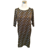 Turnover Dress with pattern