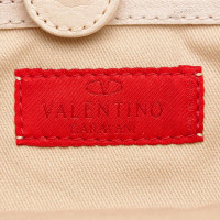 Valentino Studded Leather Tote Bag