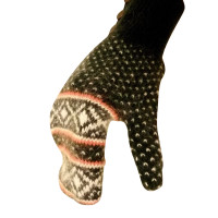 Rag & Bone Gloves in knitted look
