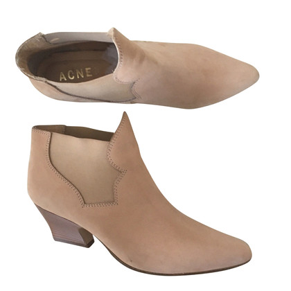 Acne Ankle boots in Nude