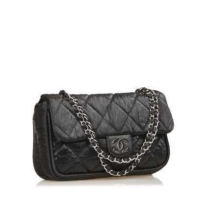 Chanel Quilted Fiber Flap Bag