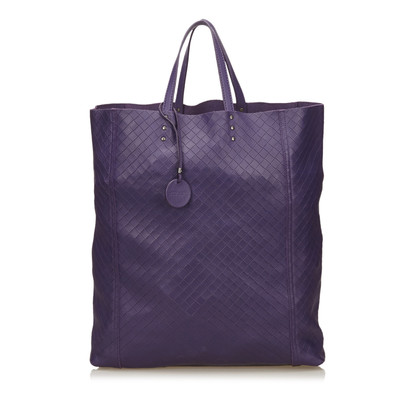Bottega Veneta Leather Intrecciomirage Tote